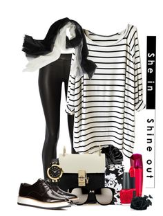 """T"" by jckallan ❤ liked on Polyvore featuring The Row, Chloé, Isaac Mizrahi, Linda Farrow, Vince, Sofia Cashmere, ESCADA, OPI, Versace and women's clothing"