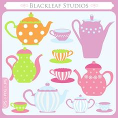 printable tea pot images | Little Tea Pot Clipart
