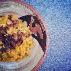 Vanilla Coconut Milk & Yellow Curry Dahl #vegan #protein