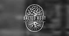 Salted Root Coffeehouse | Logo Design | The Design Inspiration:
