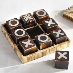 NOUGHTS /& CROSSES TIC TAC TOE MARBLE GAME multi post discount applies