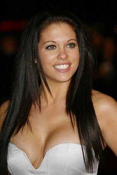 Bianca Gascoignes long layered hairstyle