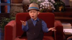 This made my day please watch..:)Four-Year-Old YouTube Sensation Sings for Ellen!