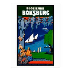 #South Africa Boksburg Vintage Travel Poster Postcard - #beach #travel #beachlife