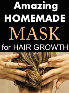 Amazing homemade mask for hair growth.