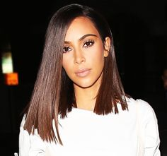 Kim Kardashian | blunt shoulder length cut