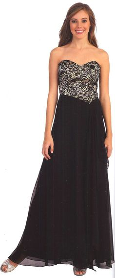 Prom Dresses<BR>Evening Dresses under $200<BR>8695<BR>Long sweetheart neckline gown, beaded bodice.