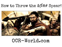 How to throw the spear in a Spartan Race Spartan Sprint, Spartan Race Training, Spartan Spear, Obstacle Course, I Work Out, Crossfit, Warriors, Character Design, Racing