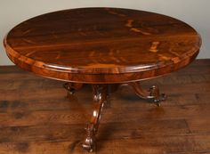 Victorian rosewood breakfast table. c1860