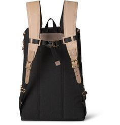Master-PieceCanvas and Leather Backpack