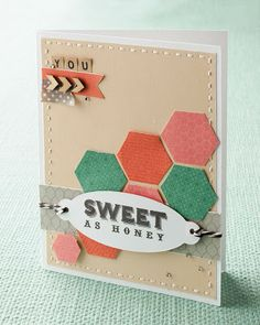 jeanettelynton.com: My Favorite Stamp Set: Sweet as Honey