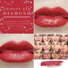 Crimson Red Diamond LipSense- currently Unavailable