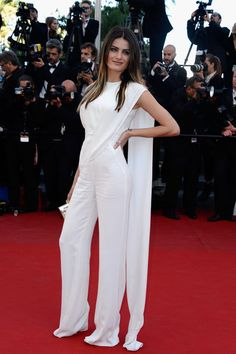 Model Isabeli Fontana attends the 'The Immigrant' premiere during The 66th Annual Cannes Film Festival at the Palais des Festivals on May 24, 2013 in Cannes, France.