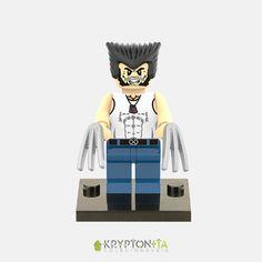 Miniatura Wolverine X-men - Compatível Com Lego