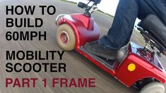 This is the most indepth guide to building your own super mobility scooter with a top speed of now you might not set a new world record but its the ch. Scooter 50cc, Scooter Wheels, Scooter Parts, Scooter Girl, Vespa Moped, Trike Motorcycle, Fast Scooters, Mobility Scooters, Mobility Aids