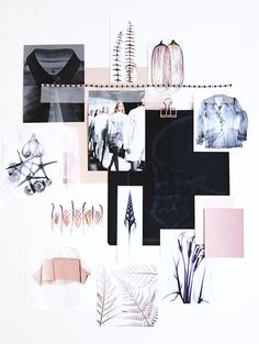 Scanned Moodboard-Eclectic Trends for sisterMAG