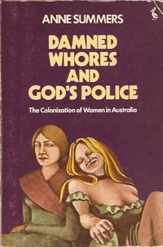 Damned whores refer to those women who break stereotypes and don't play by the rules and Gods police refers to the more stereotypically programmed women who POLICE the infringements on the status quo. (Don't they ever)! Whilst Feminism often recounts narratives of male originators of sexism, this book details some of the issues relating to female to female sexism. Its probably something every go-getting woman has experienced at some time disapproval from the sisterhood or blatant betrayal