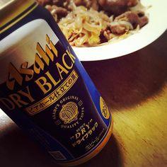 #スーパードライ #アサヒビール #黒ビール  #asahibeer #Superdry #blackbeer