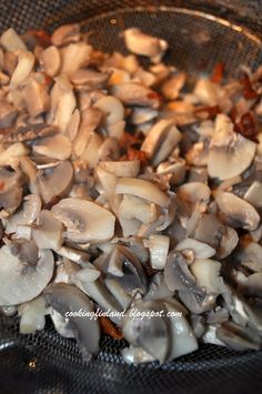 Yesterday I made a really tasty mushroom salad, it is one of our favorite foods to buy at the grocery in Finland, but I had never made it m...