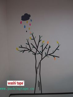 washi tape tree (15mmX10m)