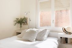 House Tour: A Minimal, Modern All-White Spanish Home | Apartment Therapy