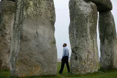 Obama at stonehege