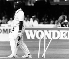 It's not every day you get the better of Viv Richards