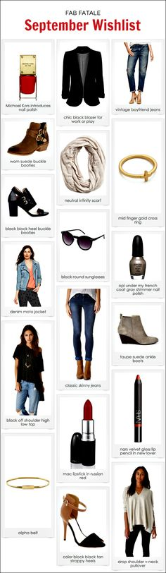 september wishlist - #fall #2013 #fashion #trends