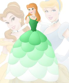 disney+fusion:+Belle+and+Cinderella+by+Willemijn1991.deviantart.com+on+@DeviantArt