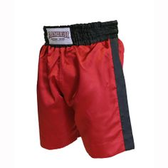 Red with Black Trim Boxing Shorts  $25.00
