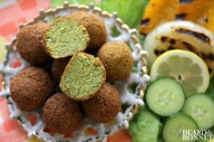 Authentic Golden Falafel (Gluten-Free and Vegan) and My First Cookbook Review!