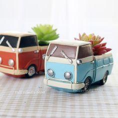 Творческий ретро инструмент корзину небольшой кашпо весело рабочего грузовик автомобили смола цветочные горшки персонализированные украшения дома купить на AliExpress