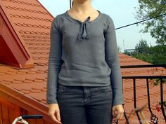 kurza łapka- bluzka
