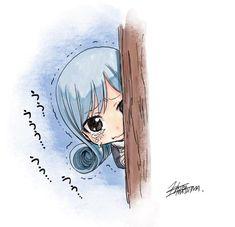Juvia so cute by Mashima