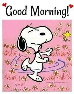 Good Morning Snoopy, Happy Good Morning Quotes, Morning Cartoon, Morning Greetings Quotes, Good Morning Good Night, Snoopy Images, Snoopy Pictures, Charlie Brown Quotes, Charlie Brown And Snoopy