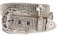 Nocona Rhinestone Cross Buckle Belt available at #Sheplers