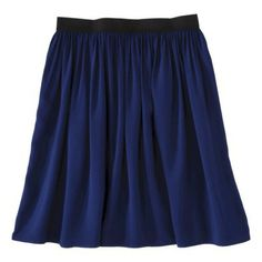Xhilaration® Juniors Challis Skirt - Assorted Colors Love the blue, green, or red!