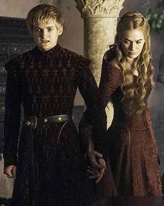 Joffrey and Cersei