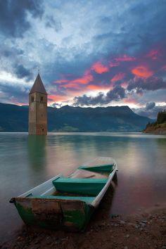 Lago di Resia, Italy