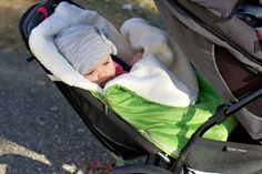 Keep babies warm in the winter with JJ Cole