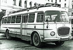 Sightseeing Bus, Busses, Cars And Motorcycles, Vintage, Prague, Historia, Antique Cars, Vintage Comics