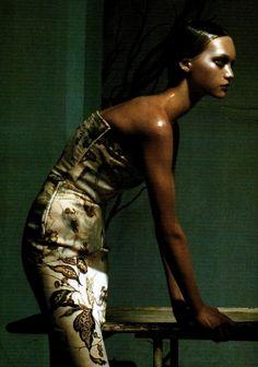 Gemma Ward, photo by Steven Meisel, Vogue Italia