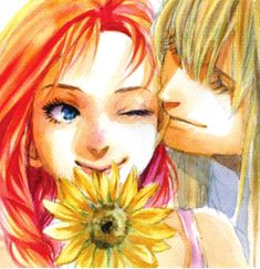 Howl and Sophie are the perfect couple. (Howl's Moving Castle by Diana Wynne Jones)