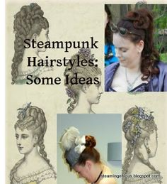 Steampunk Hair~by Steam Ingenious