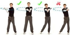 Golf Drill for Corre