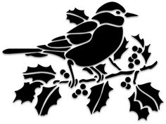Free for Personal Use. No Commercial Use. Bird Stencil, Stencil Art, Bird Silhouette Art, Stencil Printing, Shadow Art, Apple Wallpaper, Flower Tattoo Designs, Colorful Pictures, Easy Drawings