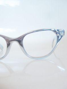 Vintage 1960s Tura Eyeglasses Glasses Cat Eye Aluminum Silver Chrome Metallic Cateye 60s Sixties Mid Century Optical Frames Ladies
