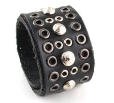 Genuine Leather Bracelet JewelryVolt. $13.50
