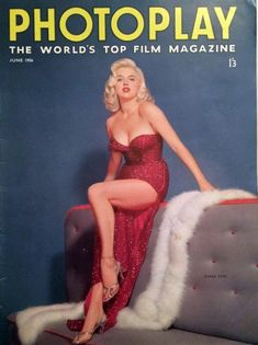 Diana on the cover of Photoplay June 1956
