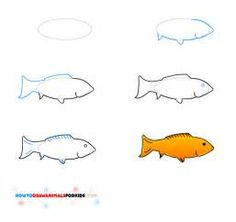 how to draw fish - Yahoo Image Search Results